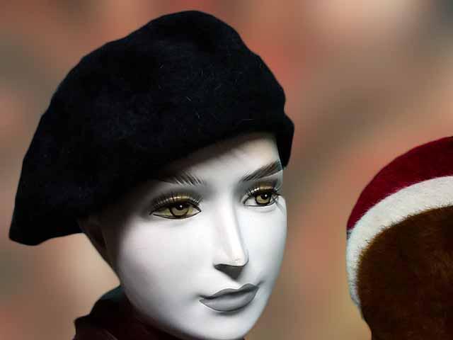 Angóra barett női
