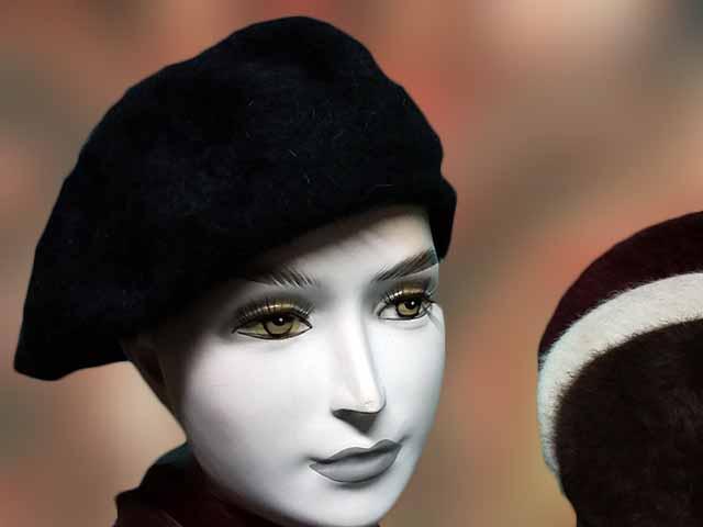 Angora noi barett - Férfi kalap női kalap sapka Férfi kalap női ... 1593be8da6