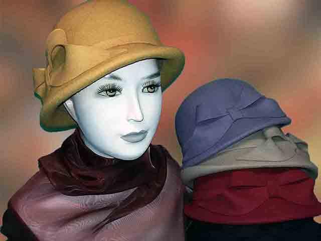 klos női kalap