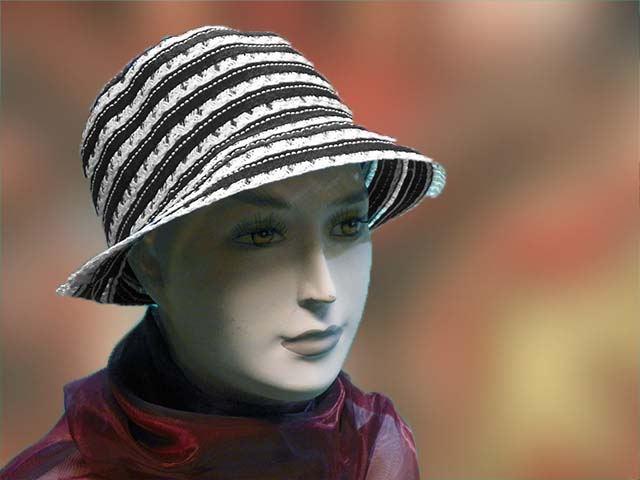 Fekete-fehér - Férfi kalap női kalap sapka 91175973f6