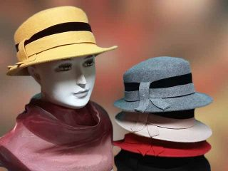 divat női kalap 2017