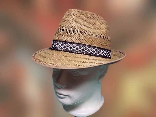 ferfi szalma kalap kis karimas