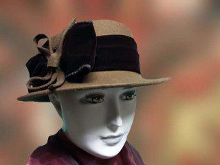 mustár női kalap