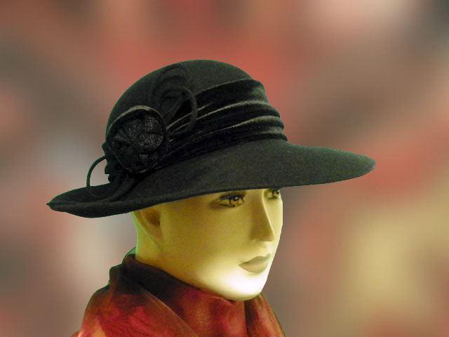 Női kalap fekete elegáns alkalomra is - Férfi kalap női kalap sapka 9412f36fc4